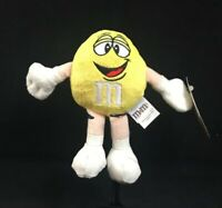"Yellow 7"" Peanut M&M Plush Toy 2011 By Mars, Inc NWT"