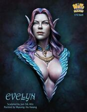 Nuts Planet, Evelyn, 1/12th scale unpainted resin bust kit NIB NP-B032