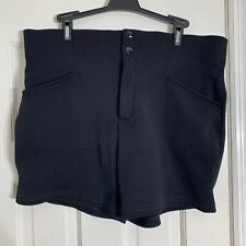 Vintage Mens Bike Brand Cycling Athletic Shorts Black Size Large