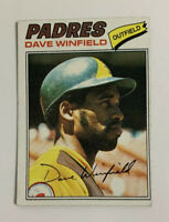 1977 Dave Winfield # 390 Topps Baseball Card San Diego Padres HOF