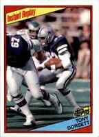 1984 Topps #239 Tony Dorsett HOF INSTANT REPLAY Dallas Cowboys / Pitt Panthers