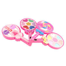 Kids Cosmetic Toys Lollipop Beauty Set for Girls with Lipstick, Eye Shadow