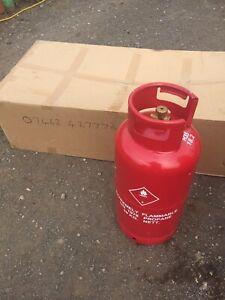 19kg propane gas bottle Full Please Read Full Description