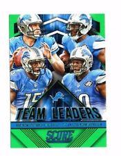 Detroit Lions 2015 Panini Score, Team líderes, (Verde) Matthew Stafford