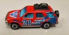 1994 Matchbox Isuzu Rodeo - Scarce Red Power Parts Variation - NICE Condition