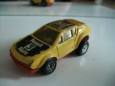 Majorette Motor Renault Alpine in Yellow