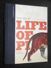 SIGNED; LIFE OF PI by Yann Martel (2007-1st Illust Ed) Booker Winning Novel RARE
