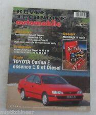 Revue technique automobile RTA 591 1997 Toyota carina E essence 1.6 et diesel
