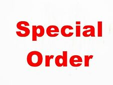 Special   8 x 300mm Acrylic clock blanks as description below