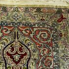 Silk Rug from Hereke, Turkey (929 KPSI) woven by the Ozipek family 26 X 17 inch