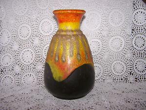 Sehr schöne Vase / Keramikvase - Bay-Keramik, Fat Lava, Modell Nr. 66 20