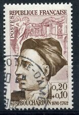 STAMP / TIMBRE FRANCE OBLITERE N° 1346 EDME BOUCHARDON
