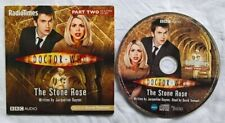 Doctor Who The Stone Rose CD Part 2 only Read by David Tennant Promo Audio Book