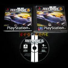 TEST DRIVE 5 V Ps1 Versione Ufficiale Italiana »»»»» COMPLETO