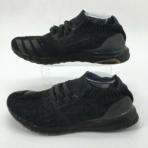Adidas Mens 12 Ultraboost Uncaged Lace Up Low Running Shoes Sneaker Black DA9164