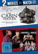 2 DVDs * 2 MOVIE - THE CABIN IN THE WOODS / TRUCKER & DALE VS EVIL # NEU OVP §