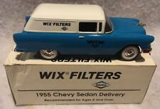 WIX FILTERS LIBERTY CLASSICS 1955 CHEVY SEDAN DELIVERY TRUCK BANK DIE CAST MINT