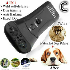 Ultrasonic Anti Barking Dogs Repeller Train Control Device Bark Stop Trainer