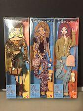 New 2002 Barbie My Scene Fashion Scene Fashion Teens On The City Scene Lot Of 3!