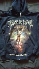 CRADLE OF FILTH ZIP HOODIE SIZE SMALL OFFICIAL MERCHANDISE NEW HAMMER OF THE...