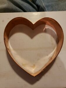 BRAMAN Heavy Copper    Heart  Cookie Cutter