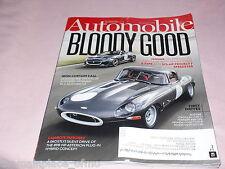 Automobile Magazine October 2015 Jaguar Cadillac CTS V Ferrari 488 GTB Honda