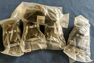 R64 Disney Pixar CARS Kelloggs Promo (5) Sheriff & Doc Hudson in sealed baggies