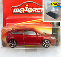 Majorette Citroen C4 Coupe Red Diecast Car 1:57 254F Free Display Box