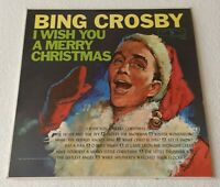 BING CROSBY ~ I WISH YOU A MERRY CHRISTMAS ~ 1962 UK 11-TRACK MONO VINYL LP