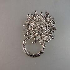 Neugablonz Trachtenbrosche Sonnenblume (47534)