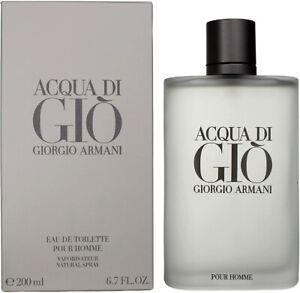 Giorgio Armani Acqua Di Gio For Men - 200ml Eau De Toilette Spray, New and Seale