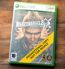 Xbox 360 Mercenaries 2 World in Flames Promotional NEW & Sealed PAL Promo