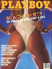 PLAYBOY JULY 1987 Carmen Berg Sandy Greenberg Ellen Stohl JohnWaters W Boggs RC2
