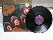 Rare Double Label Mispress THE BEATLES RUBBER SOUL Capitol Vinyl LP