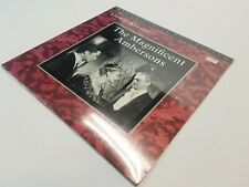 The Magnificent Ambersons Laserdisc LD Orson Wells  NEW