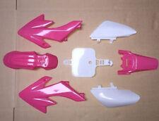 NEW Pink Plastic Kit Honda CRF50 XR50 CRF XR 50 SDG SSR Pro Pit Dirt Bikes