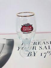 24 New Stella Artois Chalice 40 Cl Beer Glasses Pub Bar Goblet Man Cave Belgium