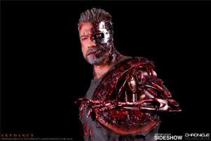 "SIDEHOW 905464 18"" Terminator Dark Destiny T-800 Arnold Statue Doll Toys"