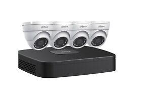 *BRAND NEW* Dahua N444E42S 4 Cameras +2TB NVR Surveillance Kit
