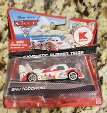 DISNEY PIXAR CARS 2 SHU TODOROKI SYNTHETIC RUBBER TIRES NEW Kmart exclusive