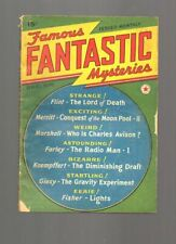 Famous Fantastic Mysteries Pulp - December 1939 issue #3
