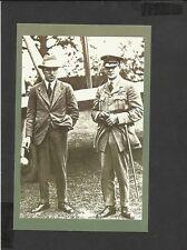 Nostalgia Postcard Alcock & Brown First Atlantic Flight June 14/15th 1919
