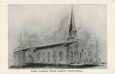 Sanford NC * Trinity Lutheran Church  1940s * Lee Co.