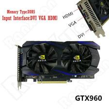 For Fit NVIDIA GeForce GTX960 GDDR5 128Bit 4GB PCI-Express Video Graphics Card