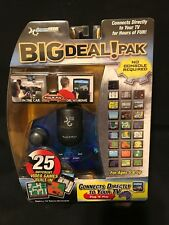 Dream Gear BIG Deal Pak Blue Plug N Play 25 Games Built In Brand New Sealed Rare