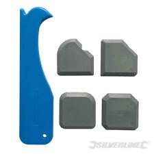 caulk Remover 4pcs 1st Classe Yato Silicone Mastic épandeur de finition Kit Outil