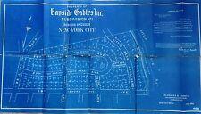 Original 1926 Bayside Gables Queens Ny Blueprint 22X40