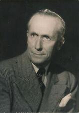 Littérature Marc Chadourne tirage argentique d'époque presse 1950
