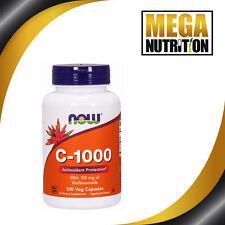 NOW Foods C-1000 100 Veggie Capsules | Antioxidant Vitamin C Skin Bone Joint