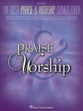 The Best Praise & Worship Songs Ever Sheet Music Easy Piano SongBook N 000311312